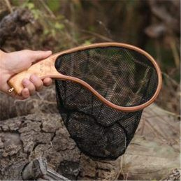Ultra-small-portable-fly-fishing-net-wooden-net-waterproof-UV-resistent-fishing-net-fly-fishing-supplies